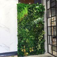 东莞市哪里有做室内外装饰仿真植物墙呢?适用用在那些地方?室内外仿真植物墙装修