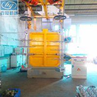 深圳抛丸机吊钩式抛丸机清洗清理设备配件厂价直销品质保证