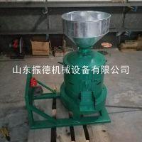 多功能立式砂轮碾米机 家用小型脱皮碾米机 谷子去壳机 振德促销