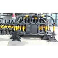 广东黄黑塑料护栏在哪里有卖的 深圳黄黑塑料护栏 水力施工围栏