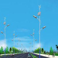 晟成50W8米杆子风光互补路灯 晟成一体化建设新农村