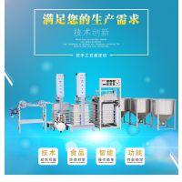 河南仿手工豆腐皮机多少钱一台 豆腐皮生产线机器视频 中科圣创厂家直销