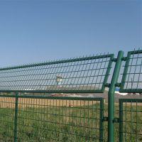 绿色浸塑框架护栏网 圈地圈果园框架围栏网 公路铁路安全防护围栏