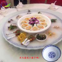景德镇青花瓷大盘子 海鲜大鱼盘 1米大瓷盘80厘米大瓷盘订制