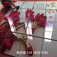 精工uv2030 5d玻璃背景墙彩雕喷绘机