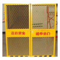 重庆工地用电梯防护网现货供应 施工人员安全门 工地临时护栏网