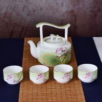 骨瓷茶壶礼品套装定制 创意礼品陶瓷茶具礼盒批发 可开模定型