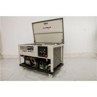 车载式15kw低噪音汽油发电机