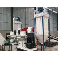 恒美百特四川乐山3-4吨木屑颗粒生产线安装调试成功