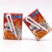 达美酸奶橙子味90ML*48盒 泰国进口酸奶批发 乳饮料