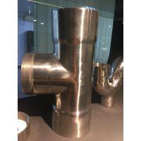 304不锈钢卡压式三通配件 水管配件