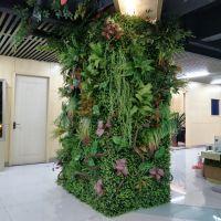 仿真绿植墙仿真植物墙配材配件装饰塑料假植物影视墙背景装修家居
