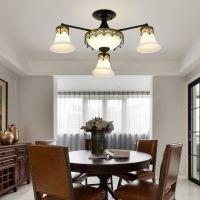 美式乡村吊灯客厅餐厅卧室房间灯简约大气高档灯