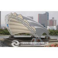 河南膜结构车棚雨棚,武汉钢结构车棚雨棚,湖北车棚厂