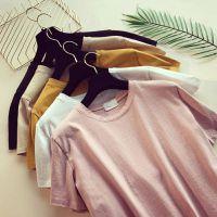 服装韩版女装短袖棉T恤工厂反季地摊货源便宜批发