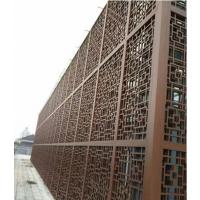 浙江艺术馆铝窗花厂家订做