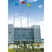 东莞市三根旗杆标准配置高度 不锈钢变径旗杆标准规格 旗杆制作广州厂商