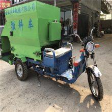 厂家订做撒料车 润众柴油四轮撒料车