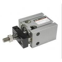 SMC自由安装型气缸杆不回转单作用弹簧压出型CUK16-15T-XC34带不回转板