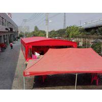 烧烤活动雨棚布 展览帐蓬万向轮遮阳篷