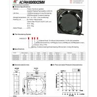 RG(仁钢)80*80*25交流风扇//机械设备散热风机