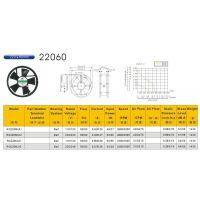 200*200*60散热风扇110V~380V/工业散热风机/双滚珠轴承/RG(仁钢)深圳生产制造