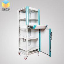 上海坦森工厂直供仿威图机柜机箱 不锈钢配电柜 冷轧钢板控制柜 电气操控柜 非标定制
