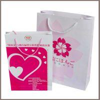 深圳纸袋定做打扮礼物黑卡纸包装袋订做手提袋印刷