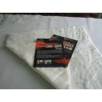 (极具竞争性厂家)厂家供应1633阻燃棉密度27.5白色220g/㎡220cm出口美国床垫面料填充棉