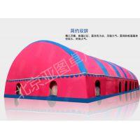 农村婚宴事宴红白喜事充气帐篷防风防雨防寒三层帐免搭建