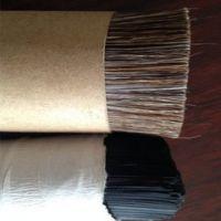 巨龙公司供应质量精细的马鬃毛,工业刷子原料马尾毛,马毛