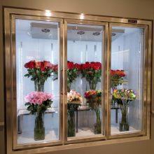 四川成都哪有厂家供应出售鲜花风幕柜