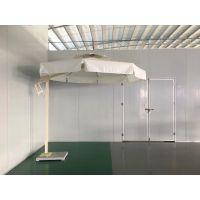 厂家定制不锈钢防滑站岗台遮阳伞 单边伞 休闲庭院撒 可印制LOGO