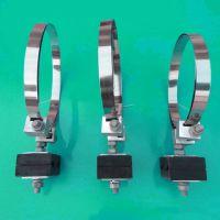 不锈钢带1点2米ADSS光缆用钢带型杆用引下紧固夹具引下线夹L17