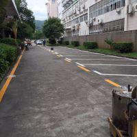 青鸟交通设施工程 热熔划线 马路公路 停车场小区车位划线
