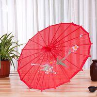 创意【油纸伞,太阳伞】专属定制/批发,伞布材质绸缎,伞骨数量12骨