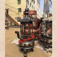 温州禅相法器厂家直销祠堂圆形香炉。
