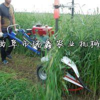 手推式苜蓿草割晒机 多用经济作物割倒机 油菜收割机