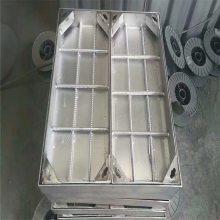 新云 定制不锈钢井盖700*700*80不锈钢下沉式铺装隐形井盖贴砖装饰井盖