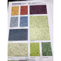 厂家直销供应大巨龙维也纳同质透心地板 无方向 PVC商用弹性塑胶卷材地板