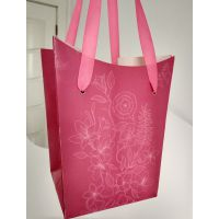 八角装饰礼品袋 吊挂鲜花包装袋
