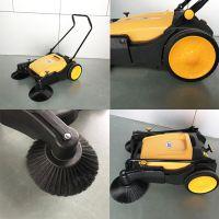 工厂车间库房扫尘土用艾隆AL920手推式无动力扫地机