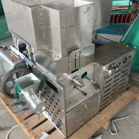 三股大麻花机柴油机带动 临汾整粒玉米大豆熟化机
