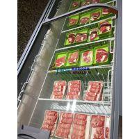 火锅店羊肉卷速冻展示柜,泉州牛肉卷冷藏柜温度,徽点卧式急冻岛柜尺寸