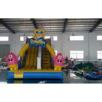 潍坊儿童充气滑梯 充气城堡生产厂家 户外支架游泳池