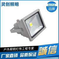 湖南长沙行业专家 LED泛光灯 专注户外亮化工程推荐灵创照明