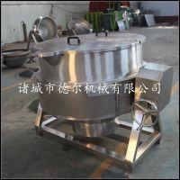 玉米蒸煮锅 燃气可傾式不锈钢夹层锅 晟品