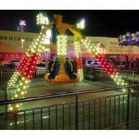 郑州宏德游乐户外游乐场刺激好玩生意好游乐设备小摆锤6P受欢迎游艺机