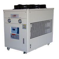 5p低温乙二醇工业冷水机 -15℃低温冷冻机 5匹风冷式冷水机