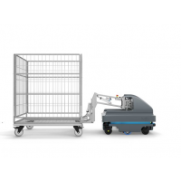 MIR HOOK100 AGV智能物流推车 移动机器人